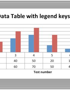 Chart with default data table legend keys images table  also example charts tables  xlsxwriter documentation rh xlsxwriteradthedocs