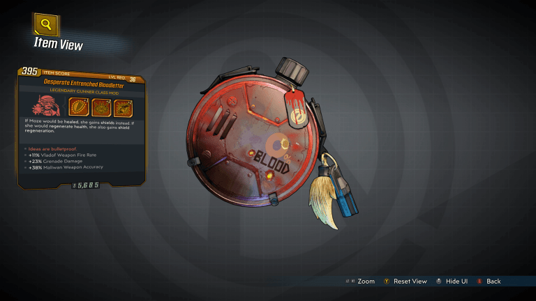 Read more about the article Borderlands 3 – Bloodletter Legendary Class Mod Guide