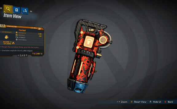 Borderlands 3 Fastball