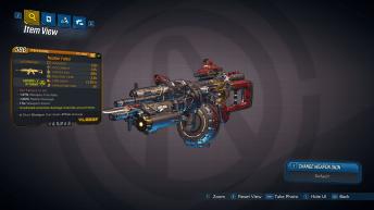 Nuclear Faisor legendary weapon