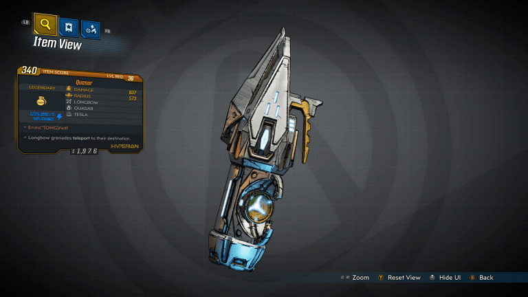 Read more about the article Borderlands 3 – Quasar Legendary Grenade Guide