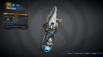 Quasar Legendary Grenade