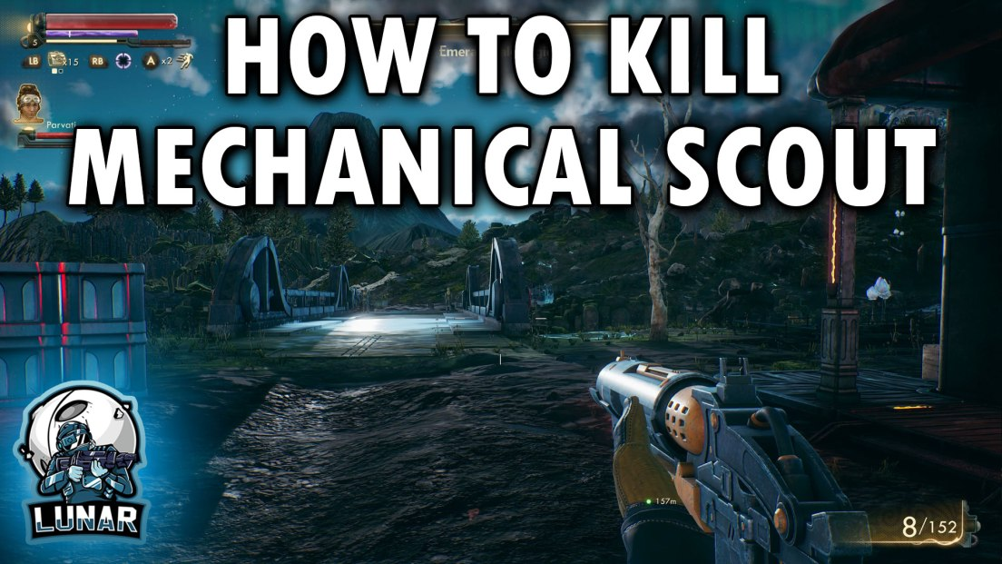 Hidden Mardet ID Cartridge Location In The Outer Worlds HOW TO KILL THE MECHANICAL SCOUT