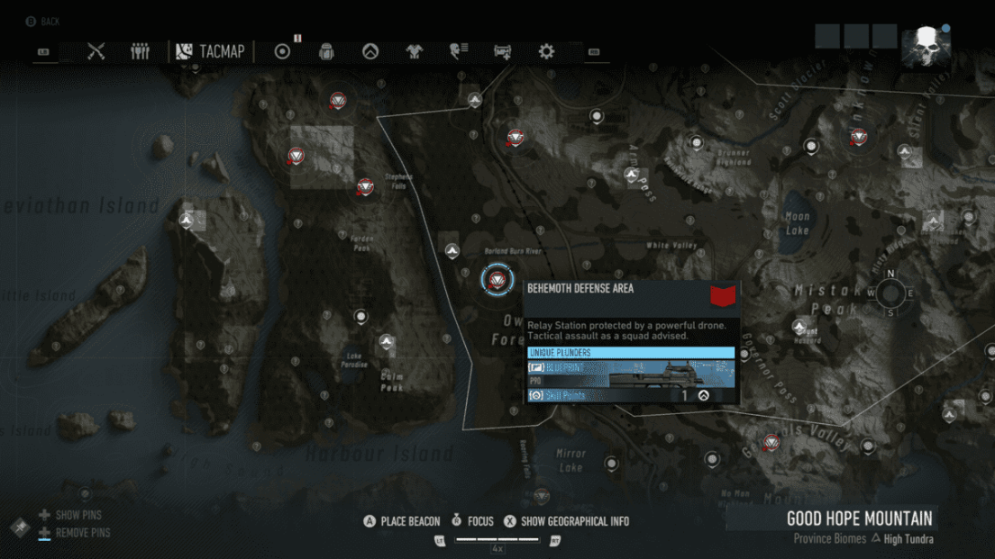 Ghost Recon Breakpoint All 70 Skill Point Locations My Great Capture Screenshot 2019 10 04 13 43 11