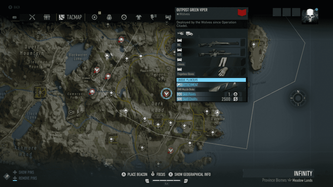 Ghost Recon Breakpoint All 70 Skill Point Locations My Great Capture Screenshot 2019 10 04 14 21 42