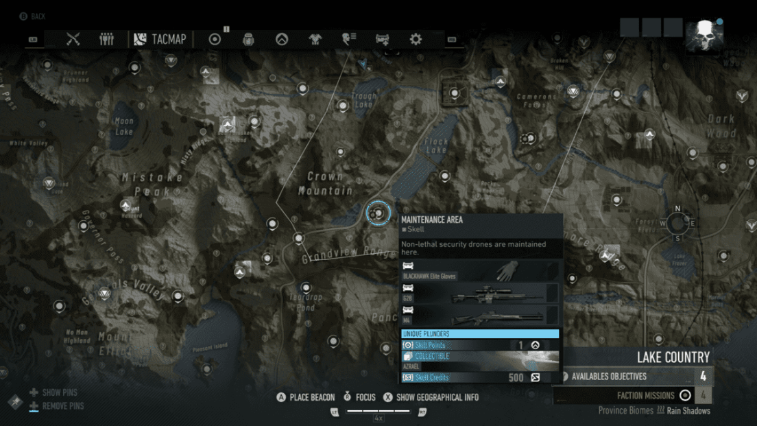 Ghost Recon Breakpoint All 70 Skill Point Locations My Great Capture Screenshot 2019 10 04 14 31 19