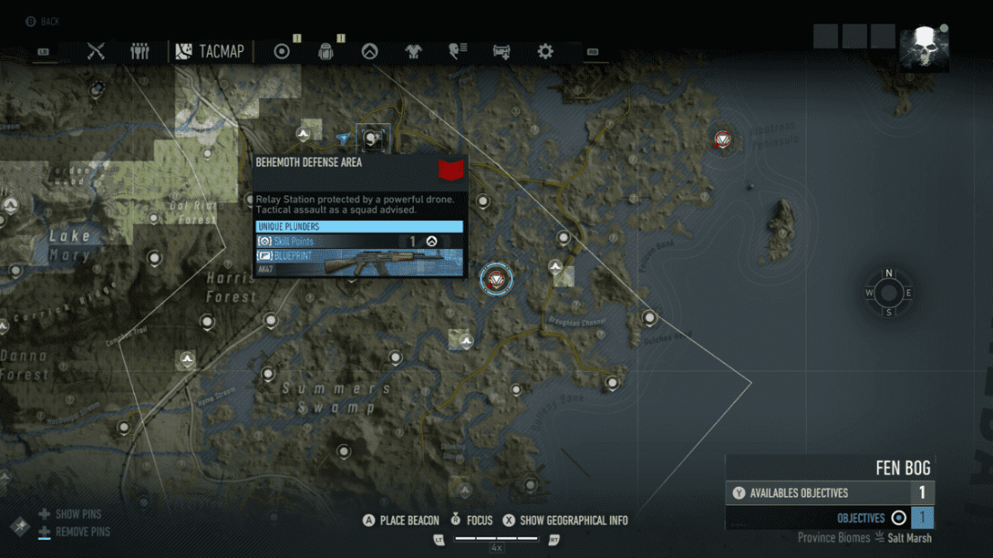 Ghost Recon Breakpoint All 70 Skill Point Locations My Great Capture Screenshot 2019 10 06 14 20 04