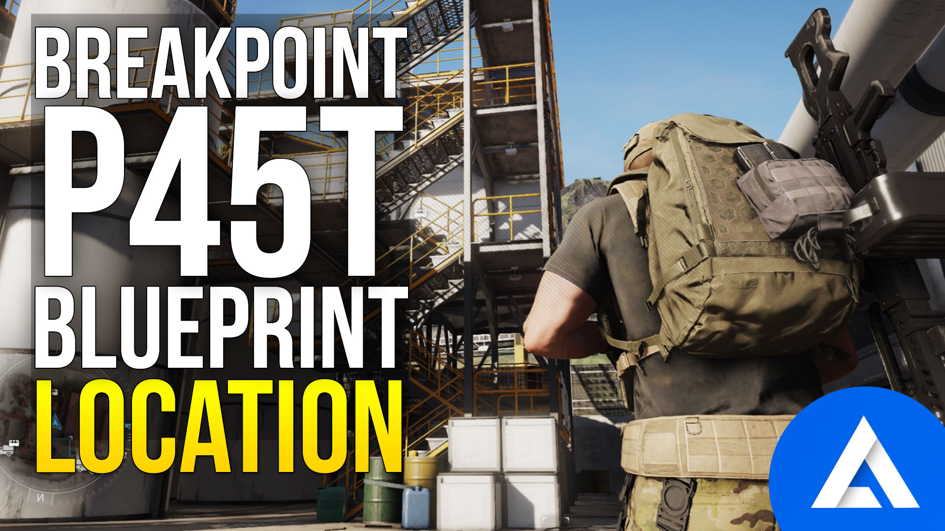Ghost Recon Breakpoint P45T Blueprint Location