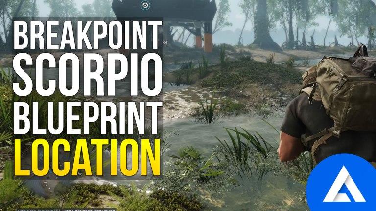 Ghost Recon Breakpoint Scorpio Blueprint Location
