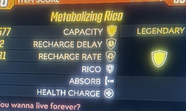 Borderlands 3 Metabolizing Rico