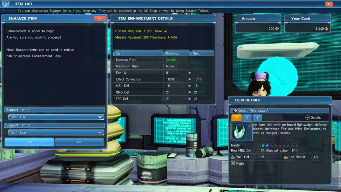 PSO2 How To Boost Elements