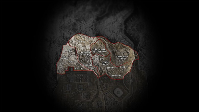 Warzone Map Sector 1
