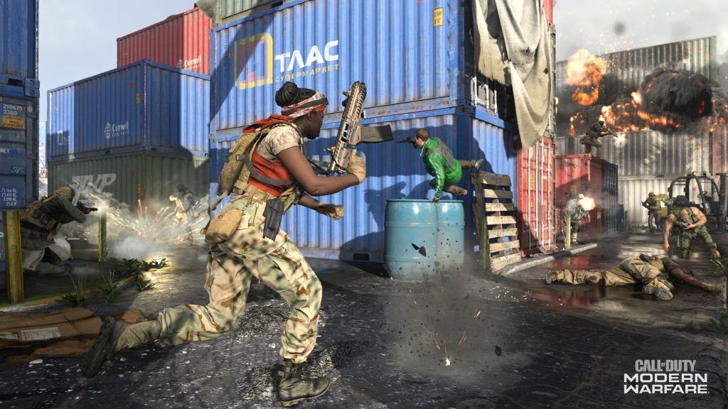 Shipment Returns to Modern Warfare