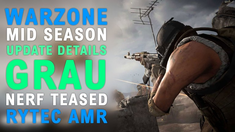 Read more about the article Modern Warfare Warzone Rytec AMR Sniper Rifle Gameplay & Mid-Season Weapon Changes