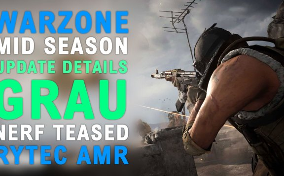 Modern Warfare Warzone Rytec AMR Sniper Rifle Gameplay & Mid-Season Weapon Changes