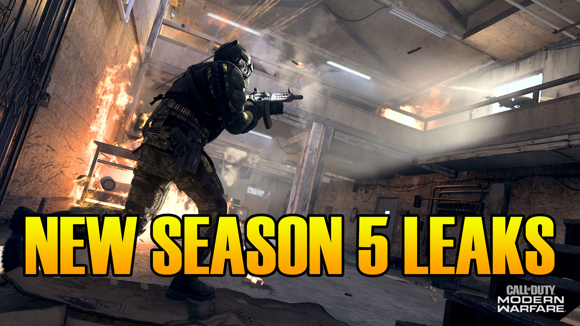 Modern Warfare Warzone Updates New Season 5 Leaks Whats New This
