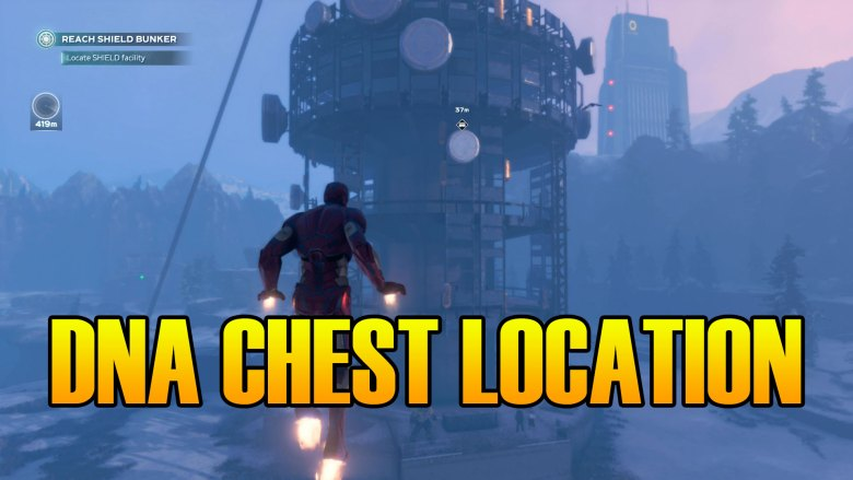 Marvel's Avengers How To Find The DNA Chest Location Snowy Tundra