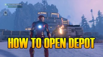 Marvel's Avengers How To Open The Depot In Snowy Tundra