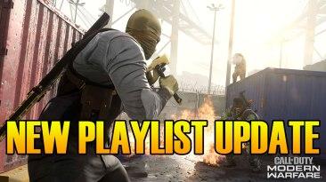 Modern Warfare Warzone Playlist Update & Cod 2020 Teasers
