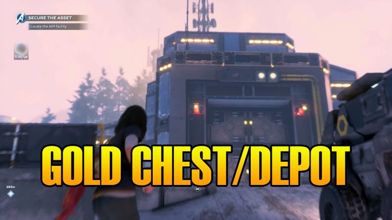 Marvel's Avengers Gold Chest Depot Locations In Snowy Tundra