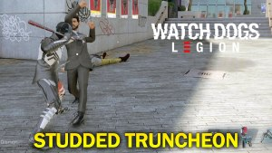Watch Dogs Legion Studded Truncheon