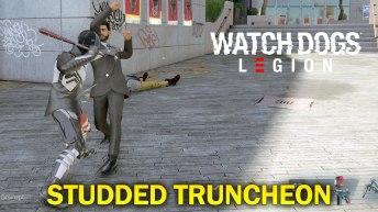 Watch Dogs Legion Studded Truncheon