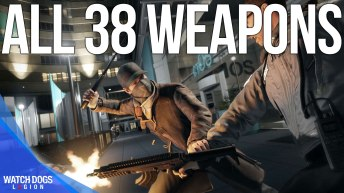 Watch Dogs Legion All Weapons