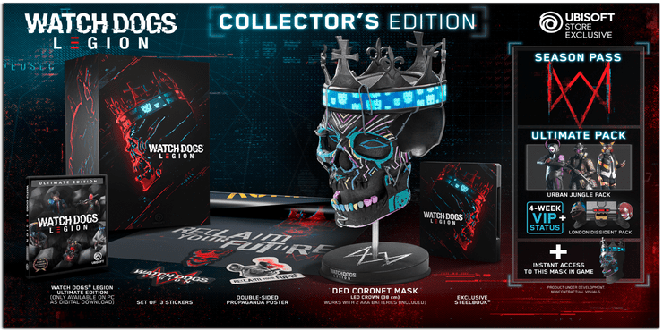 watch dogs legion collectors edition