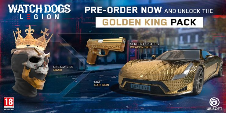 watch dogs legion golden king