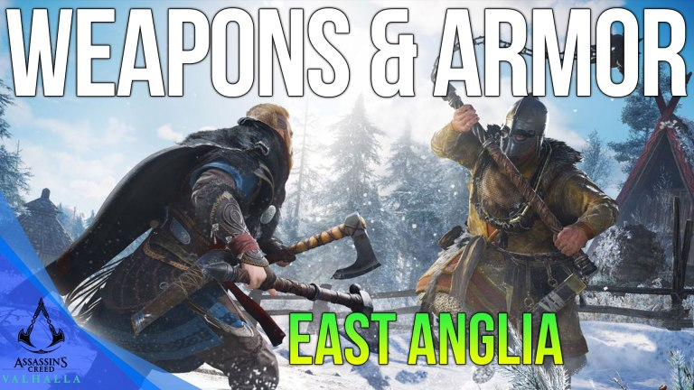 Read more about the article East Anglia Armor & Weapon Locations Assassins Creed Valhalla