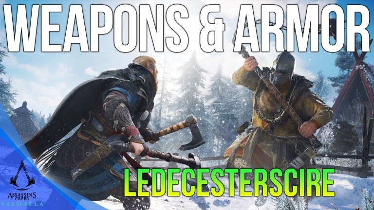 Read more about the article All Ledecesterscire Weapons & Armor Locations Assassins Creed Valhalla