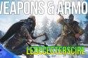 All Ledecesterscire Weapons & Armor
