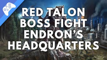 Red Talon Boss Fight