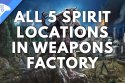 Werewolf The Apocalypse Earthblood Weapons Factory Spirit Locations