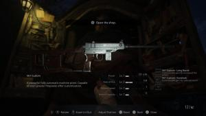 RE8 Weapons