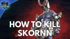 Skornn Soulreaver Boss Fight Dungeons & Dragons Dark Alliance