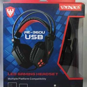 Auricular Gaming USB SATE AE-360U