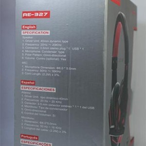 Auricular Gamer 3.5mm SATE AE-327