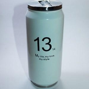 Botella deportiva térmica diseño lata de refresco