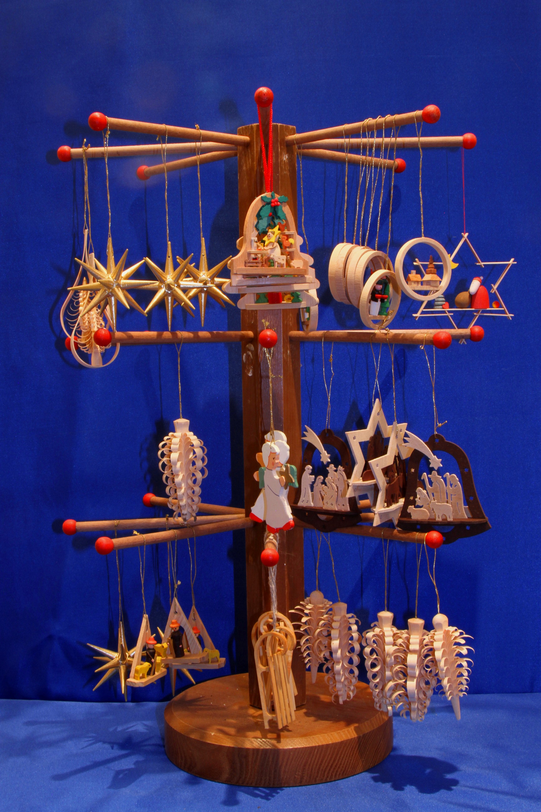Handcrafted Traditional German Christmas Decoration  Christmas Market at Galway Aquarium
