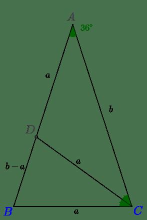 il triangolo con un altro triangolo