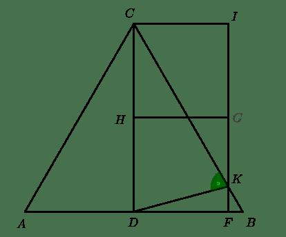 [Il triangolo con i due quadrati]