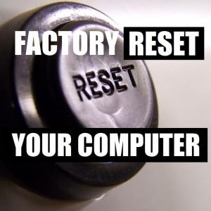 Как восстановить заводские настройки вашего компьютера?