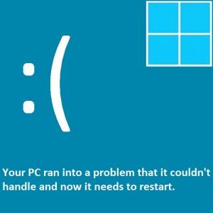Исправить синий экран смерти (BSoD) в Windows 8 (часть 3)