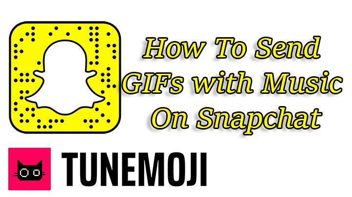 Как получать GIF-файлы с музыкой в приложении для обмена сообщениями Snapchat