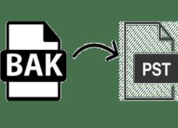 Как преобразовать файл Outlook BAK в PST с помощью простого метода
