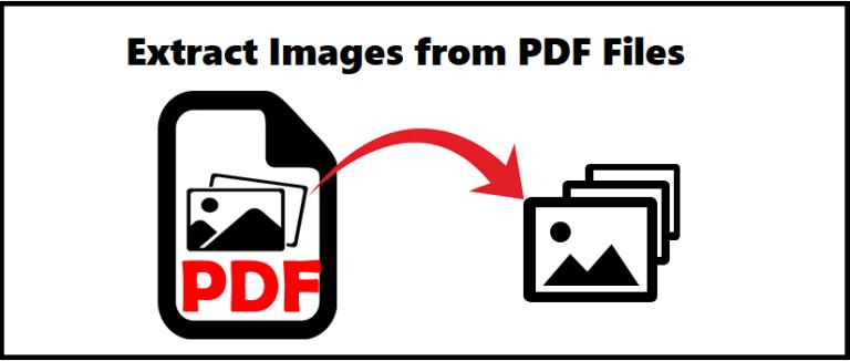 # 3 Способы извлечения изображений из PDF из подробного руководства