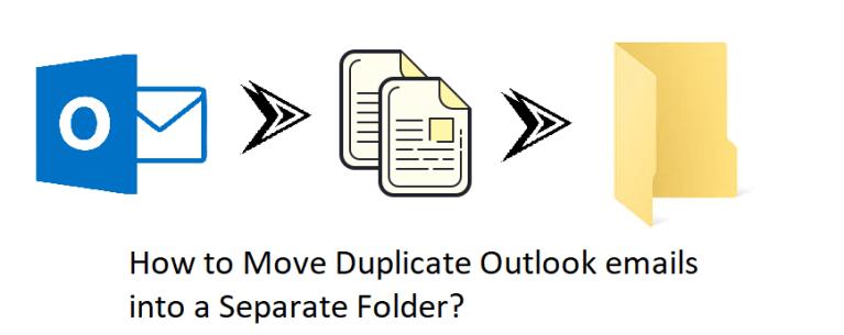 Узнайте, как переместить повторяющиеся электронные письма Outlook в отдельную папку?