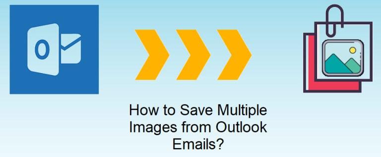 Лучшее решение о том, как сохранить несколько изображений из писем Outlook