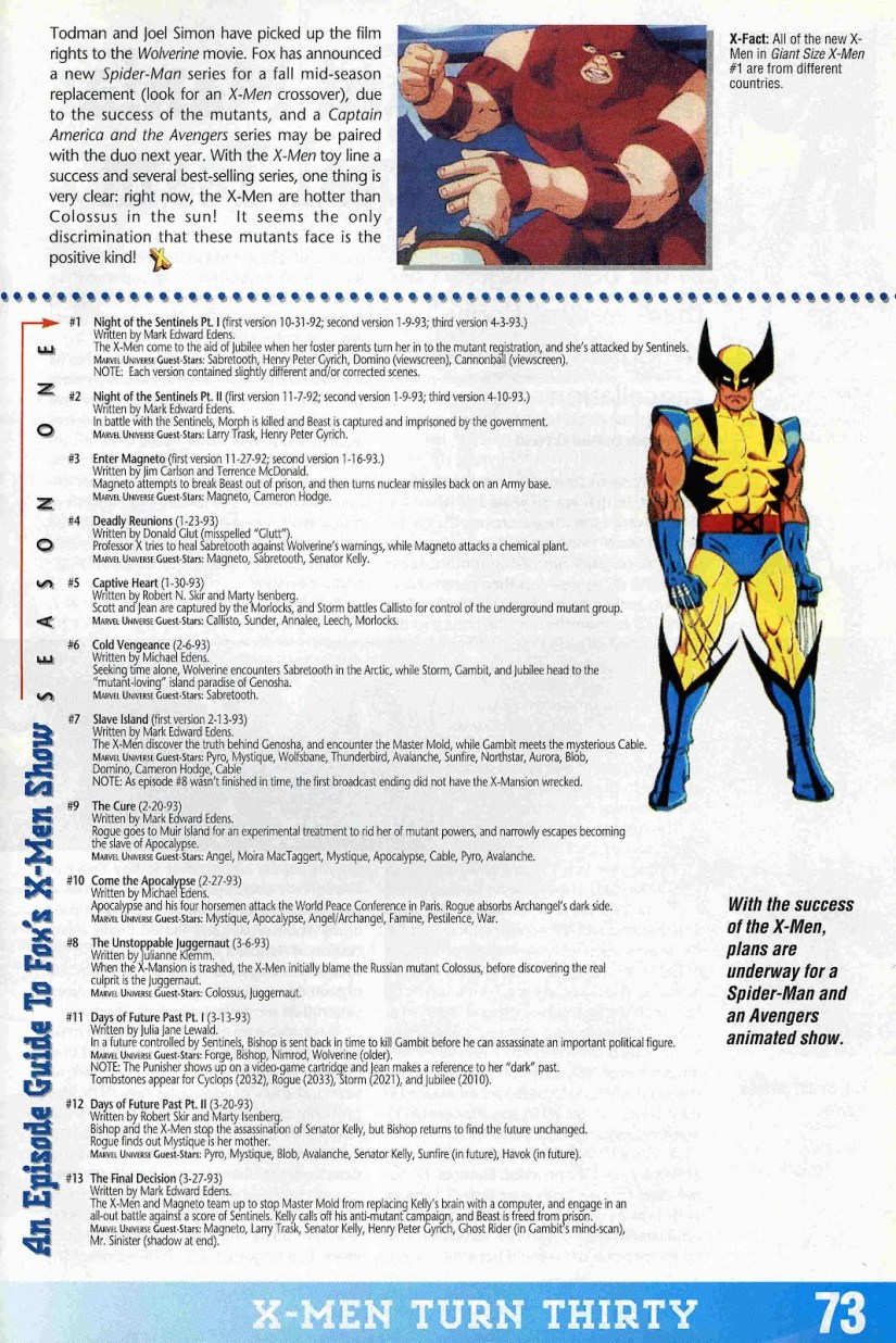 Wizard - X-Men cartoon 3